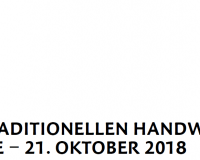Tag des traditionellen Handwerk 2018